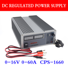 CPS 1660 PFC компактный цифровой Регулируемый источник питания постоянного тока OVP/OCP/OTP импульсный лабораторный источник питания 0 16 в 0 60 А