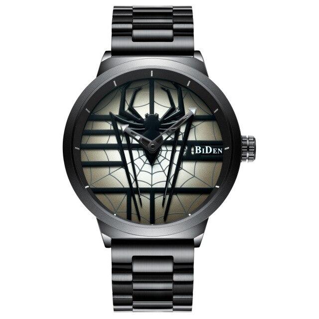 2020 new Creative Design Spider Mens Watches Luxury Brand Full Steel Analog Display Men Business Quartz Watch Relogio Masculino|Quartz Watches| |  - title=