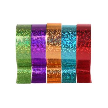 Rhythmic Gymnastics Decoration Holographic Glitter Tape Ring Stick Accessory image
