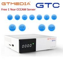 GTmedia GTC Android 6.0 TV BOX me cool k6 Combo DVB-S2 T2 Ca