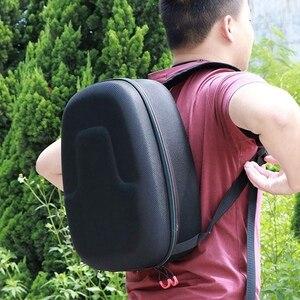 Portátil saco de transporte duro armazenamento caso capa para sony playstation vr ps4 psvr (preto)
