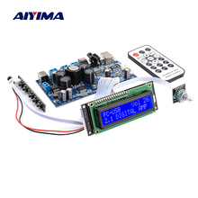 AIYIMA STA350 Digitale Scheda di Amplificatore di Potenza Audio Amplificador In Fibra Coassiale USB Ingresso PCM2704 Decodifica di Sostegno 2.1/2.0 Modalità