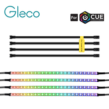RGB Led Individually Addressable Strip Light WS2812B IP65 For 3pin 5V ADD_Header For Corsair iCUE Interface Computer Motherboard