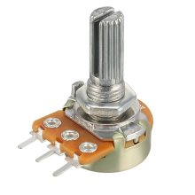 WH148 Potentiometer B1K B2K B5K B10K B20K B50K B100K B250K B500K B1M 3pin 15mm 1K 2K 5K 10K 20K 50K 100K 250K 500K 1M 128 pairs associated with switch potentiometer b500k 15mm
