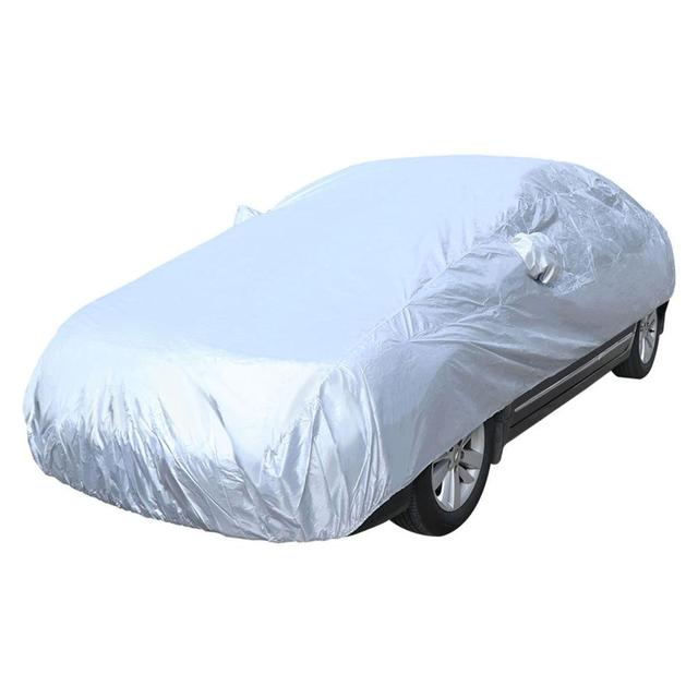 Car Front Wndow Cover/Full Cover Sun Shade Protector Outdoor Wind Dust Snow Rain Protective Cover Auto Accessories Styling 2