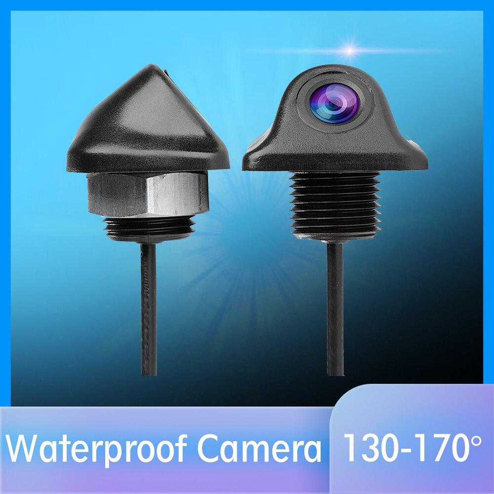 Водонепроницаемая Автомобильная камера заднего вида, угол обзора 170 градусов, ночное видение, парковочная камера заднего вида