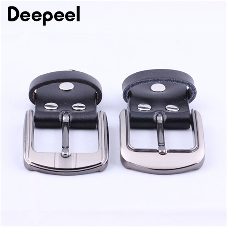 Deepeel 1pc 3.5cm-4cm Leather Belt Alloy Belt Buckle Zinc Alloy Belt Buckle Belt Head Copper Belt Buckle Head YK658
