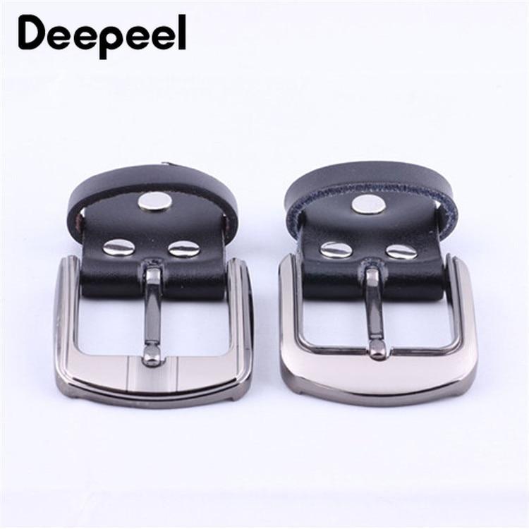 Deepeel 1pc 3.5cm-4cm Leather Belt Alloy Belt Buckle Zinc Alloy Belt Buckle Belt Head Copper Belt Buckle Head YK658