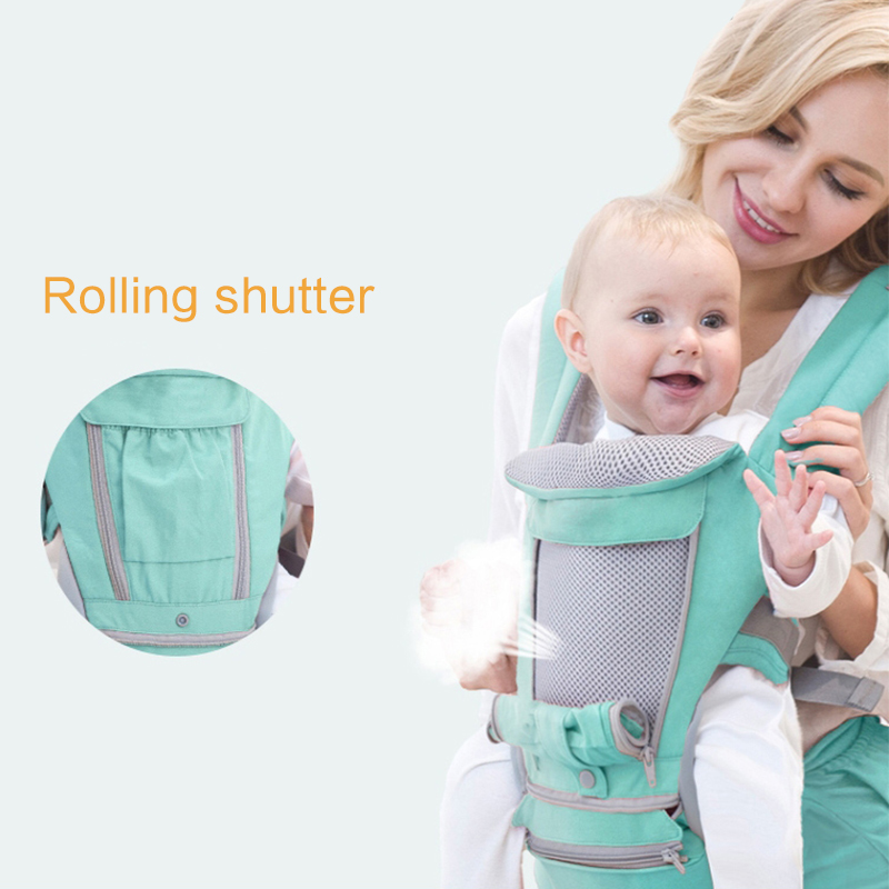 Ergonomic Baby Carrier Infant Kid Baby Hipseat Sling Front Facing Baby Wrap Carrier For Travel 0-18 Months New