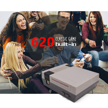 Mini TV Video Game Console, NES 8 Bit console, Built-in 620 Retro Games, Support TV Output, Children's  Gift 2