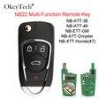 OkeyTech 3 кнопки NB26 KD пульт дистанционного управления ключ серии NB Универсальный многофункциональный для ключей DIY KD900 URG200 KD200 ключ программист