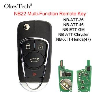 OkeyTech 3 Buttons NB26 KD Remote Control Key NB Series Universal Multi-functional For Keydiy KD900 URG200 KD200 Key Programmer