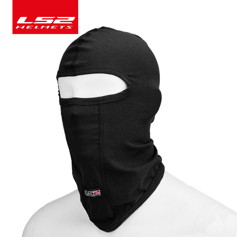 LS2 Motorcycle Face Mask Soft Smooth Breathable Ls2 Balaclava Headgear Hood Windproof Sun Protection Dust
