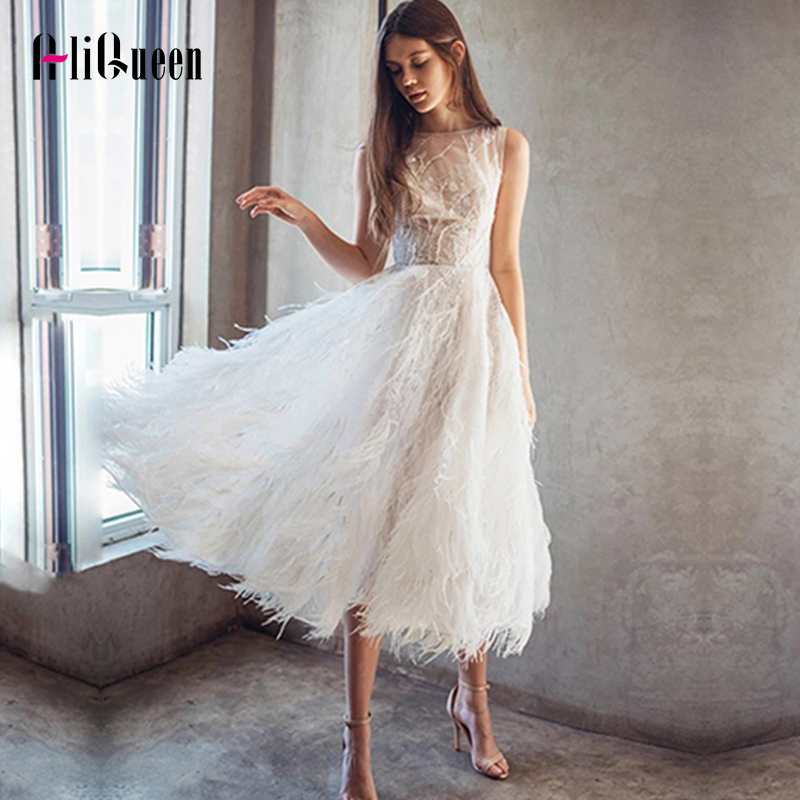 Women White Sleeveless Embroidery Feather Beading Long Dresses Elegant Ladies Black Summer Sexy Backless Party Dresses Vestidos