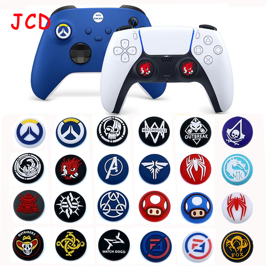 24models Silicone Joystick Thumbsticks Grip Caps For ps5 playstation PS5 PS4 Pro Slim Controller Rocker cover for XBox One 360