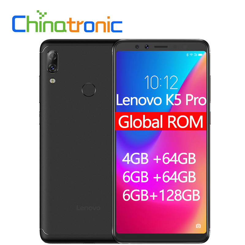 Global ROM Lenovo K5 Pro 4GB 6GB ZUI 4G FDD LTE 5.99