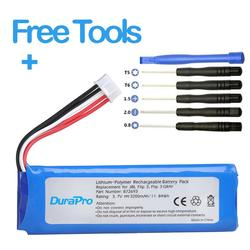 DuraPro 3.7V 3200mAh Battery GSP872693 Rechargeable Battery Pack for JBL Flip 3, Flip 3 Gray