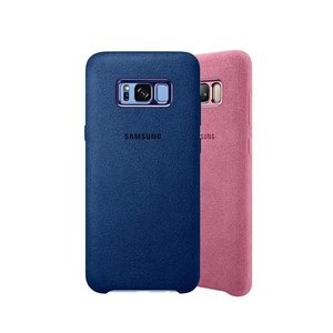 Image 2 - Funda de cuero de ante para Samsung S8, Protector completo a prueba de golpes para Galaxy S8, S8 Plus