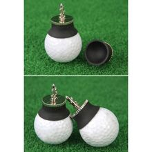 Golf Ball Picker Suction Cup Silicone Zinc Alloy Putter Grip Retriever Pick Up T