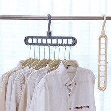 Coat Hanger Multi-Port-Support Organizer Scarf Storage-Rack Cabide Plastic Baby