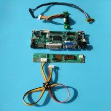"""키트 lp173wd1 (tl) (c1)/tlg1 m. nt68676 컨트롤러 보드 1600x900 17.3 """"40pin lvds vga 스크린 hdmi dvi 패널 모니터 led lcd"""
