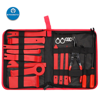 19pcs Auto Trim Removal Tool Kit Car Door Panel Trim Removal Set with Clip Pliers Set Storage Bag for Car Door Panel Dashboard|Power Tool Sets|Tools -