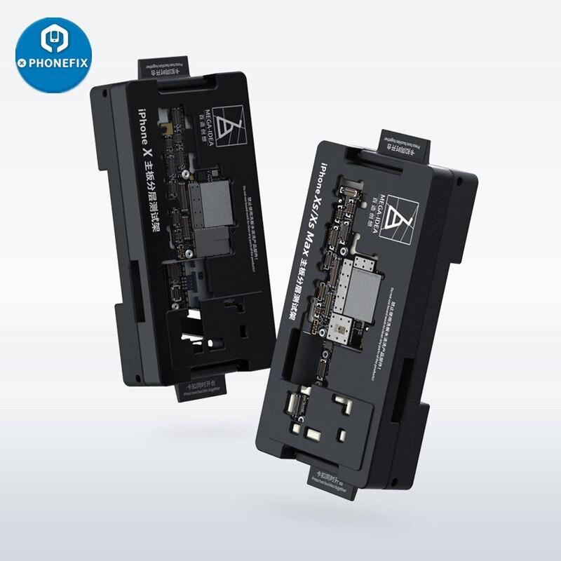 Quadro de Testes para Iphone Qianli Mega Ideia Mainboard xs Xsmax Nível Médio Placa Lógica Função Testador Plataforma Manutenção x