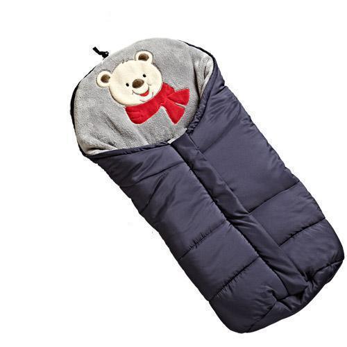 2019 Winter Baby sleeping bag for stroller Footmuff Waterproof Dearest Keep Warm Newborn Sleep Gown Windproof Baby Sleep Swaddle
