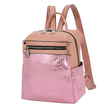 Fashion backpack women shoulder bag large capacity women backpack high quality school bag for teenage girls travel backpack pink