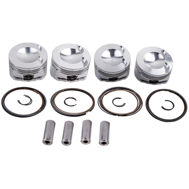 Engine Pistons & Rings Kit for Audi 8P A3 EA888 Engine 82.5mm Φ23mm 9.5:1 3