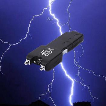 Gorąca sprzedaż elektryczne szokujące latarki zabawki gadżety Pranks śmieszne cała osoba Tricky elektryczne kije elektryczne sztuczki dowcipy zabawki tanie i dobre opinie Z tworzywa sztucznego 4-6y 7-12y 12 + y 18 + CN (pochodzenie) Unisex Electric Shock Stic Sport 15cm long Prank Trick Toy