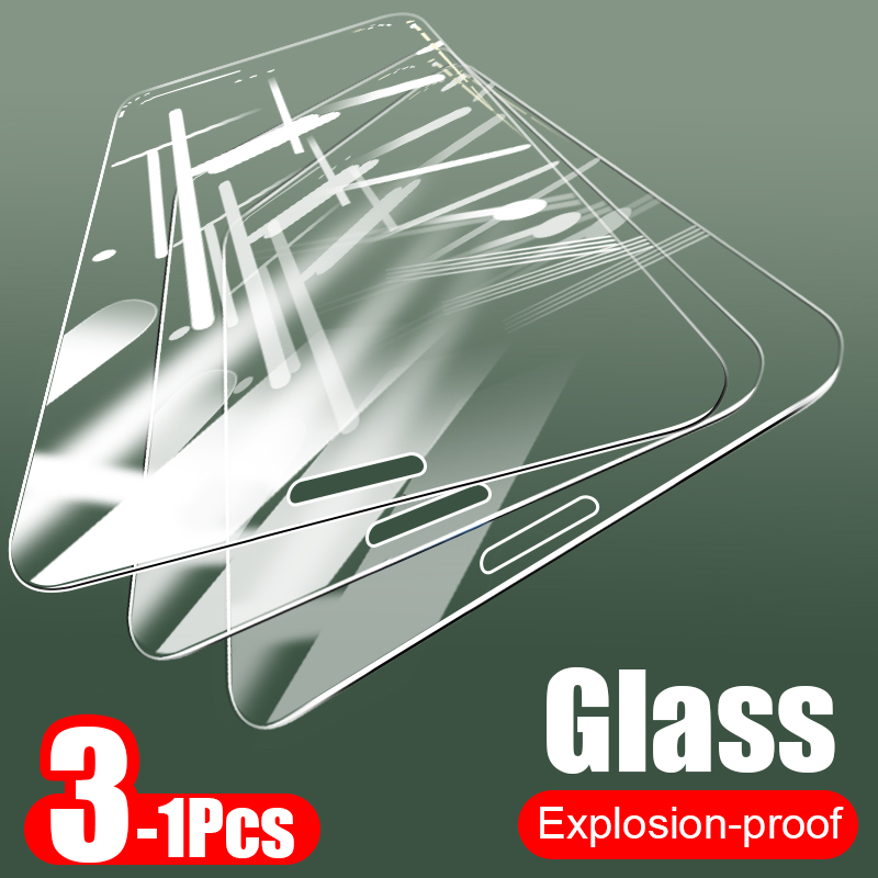 9H Full Cover Protective Tempered Glass On For IPhone 7 8 6 6s Plus 5 5s SE Screen Protector For IPhone 11 Pro X XR XS Max Glass