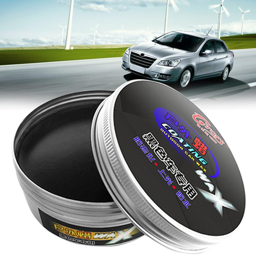 Senior Black Car Wax Polish Paint Care Waterproof Scratch Repair Car Maintenance Crystal Hard Car Wax Polish Scratch Remover