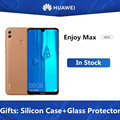DHL быстрая доставка HuaWei Enjoy Max 4G LTE сотовый телефон Android 9,1 7,12