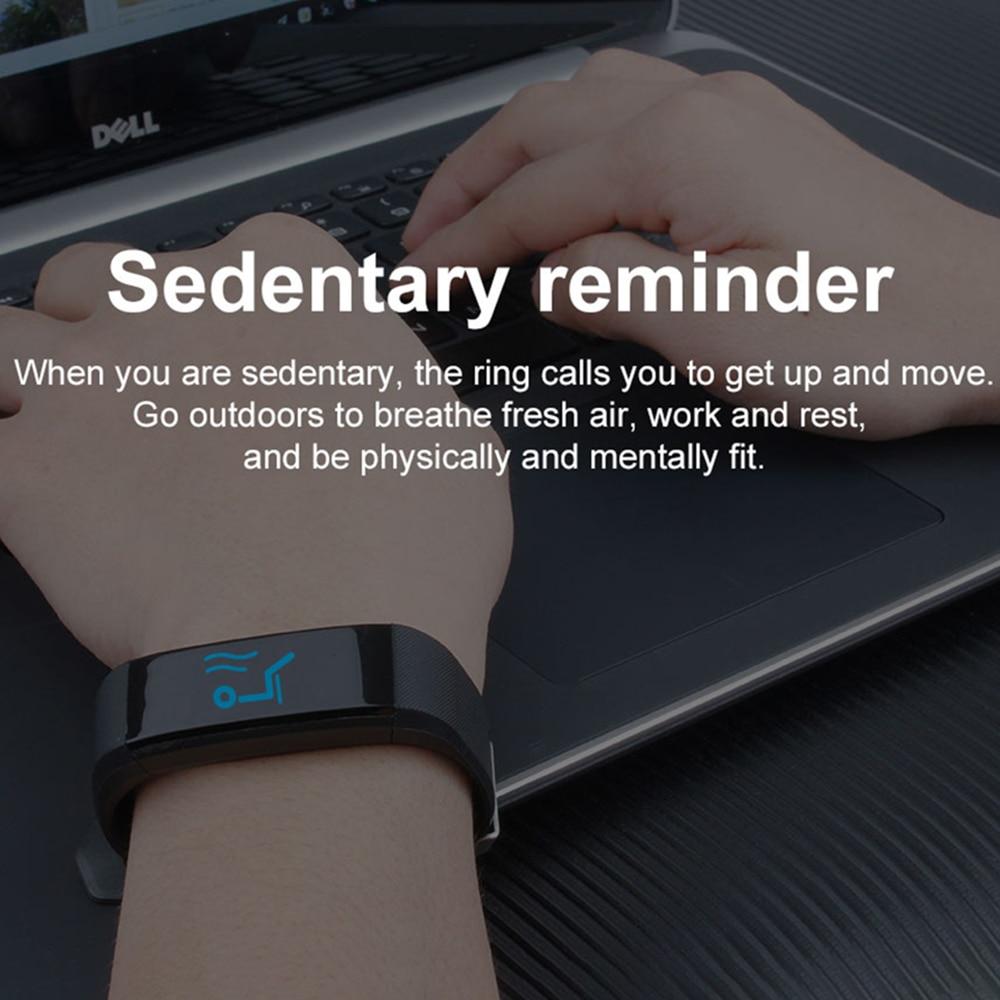 H524bfd907ed84d749eb8f8e5b1992e93t VIKEFON Smart Bracelet id115 plus Color Screen Sport Pedometer Watch Smartband Fitness Traker Bluetooth Waterproof Smart Band