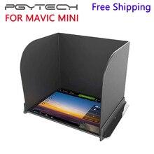 PGYTECH DJI Mavic Mini/Mavic 2 Pro/контроллер масштабирования крышка монитора солнцезащитный капюшон для DJI Mavic Pro/Air/Spark/Phantom 4 Pro