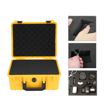 ABS Plastic Tool Box Waterproof Safety Case Outdoor Vehicle