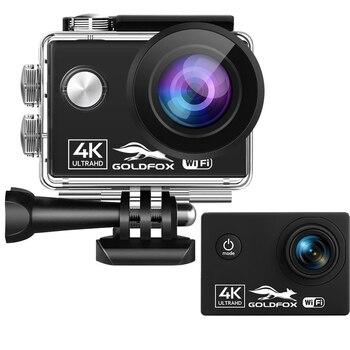 Action Camera 4K Wifi Ultra HD 60fps 24MP Sport 2.0'' IPS Screen 170 Wide Angel Go Waterproof Pro Sports DV Video - discount item  55% OFF Camera & Photo