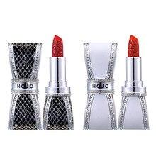 Get more info on the HOJO Diamond Bow Water Velvet Lipstick  Matte  Moisturizing Delicate Long Lasting Non-fading Lipstick