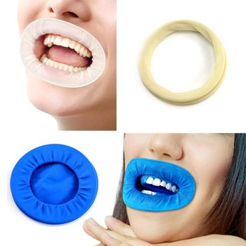 1 PCS Rubber Dam Dental Mouth Opener Intraoral Dentistry Cheek Retractors For Surgery O Shape Oral Hygiene