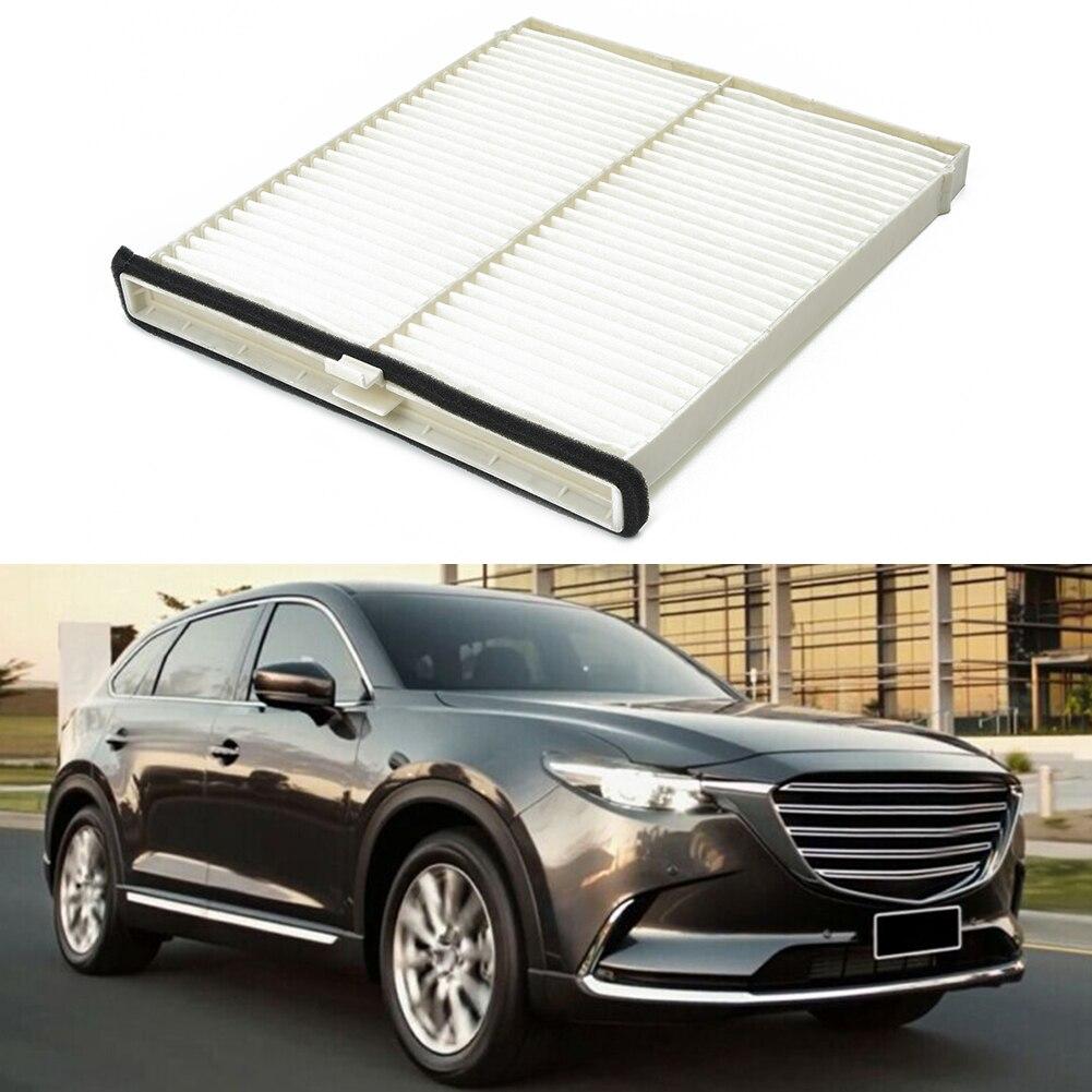 QAIK 1pc auto Cabin polvere filtro antipolline aria Filtro Carbon Cloth KD45-61-J6X misura for la Mazda 3 2014-2017 6 2013-2017 CX-5 2012-2017 Car Air