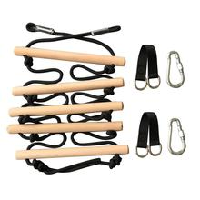 Верёвка для скалолазания на открытом воздухе Лестничные Качели забавная игрушка оборудование для активных игр на открытом воздухе для детей высокопрочный набор для походов инструмент