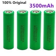 100% original mj1 3.7v 3500 mah 18650 bateria recarregável de lítio para baterias de lanterna para 18650 lg mj1 3500 mah bateria