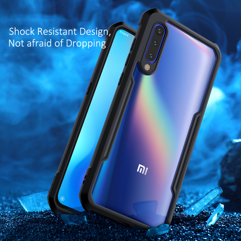 For Xiaomi Mi 9 Phone Shell XUNDD Airbag Shockproof Case Cover 360 Protective Transparent Back Cover for Xiaomi Mi 9 se Coque