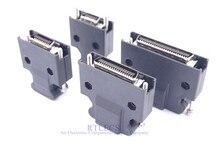 10 Uds servocontrolador chapado en oro SCSI MDR 14 20 26 36 50 Pin conector de montaje de cables de soldadura copa de montaje Cruz 3M CN macho