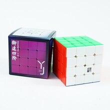 Yj Yusu V2M 4X4 Magnetische Magic Speed Cube 61Mm 4 Lagen Puzzel Yusu V2 4X4X4 M Yongjun Professionele Educatief Speelgoed Voor Kinderen