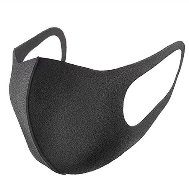 Dustproof Mouth Face Mask Anime Cartoon Kpop Lucky Bear Women Men Muffle Face Mouth Masks halloween Masks Black Fashion Mask 5