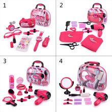 Девочка ролевые игры дети макияж набор игрушки дети одеваются косметический набор случайным образом