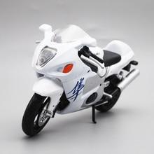 Maisto 1/12 Suzuki GSX1300R รถจักรยานยนต์ Diecast รุ่นของเล่นสำหรับเด็กชายหญิง