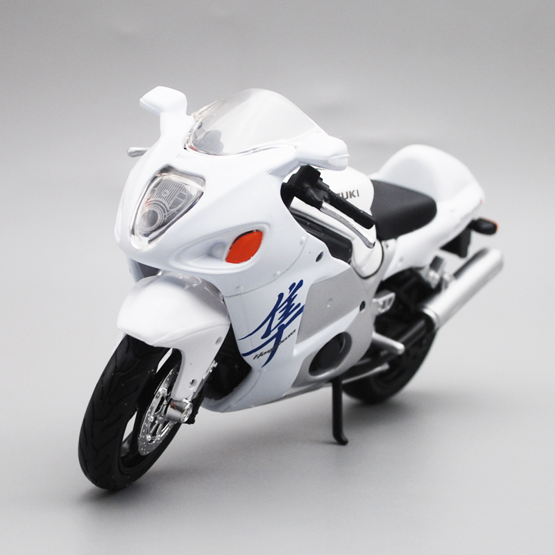 Maisto 1/12 Suzuki GSX1300R Motorcycle Motorbike Diecast Display Model Toy For Kids Boys Girls